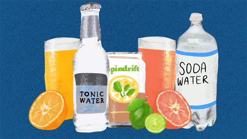 Tonic Mixers And Lo-Cal Sodas