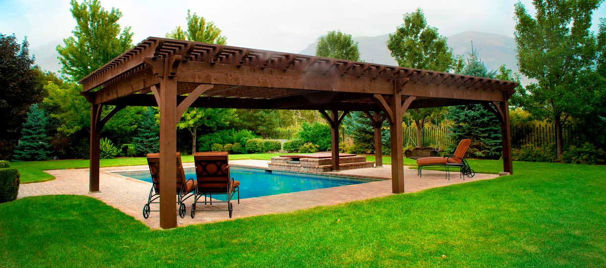 WHAT PERGOLA TO CHOOSE, RATHER THAN WOOD?